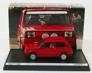 BRUMM 1/43 FIAT   PANDA 45 + TRANSKIT (DECALS AND ACCESSORIE S FOR RALLY DEI ...