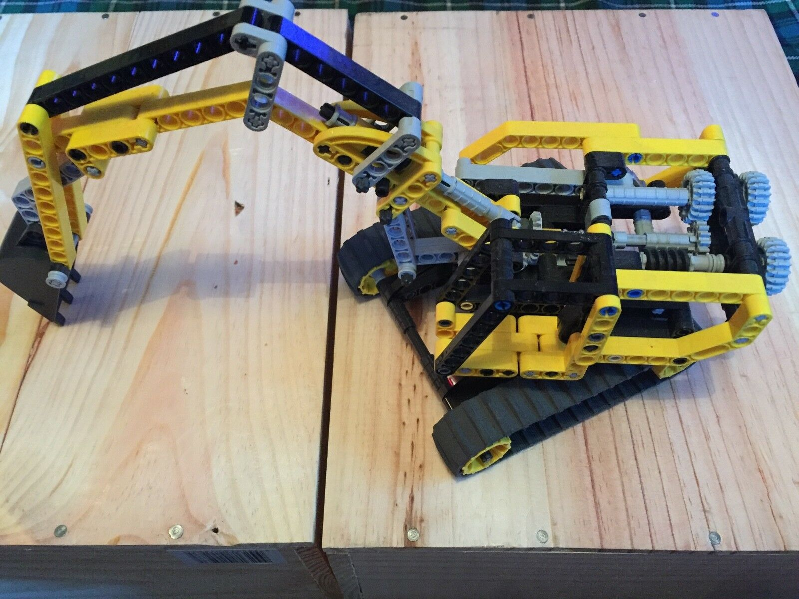 Lego Technic 8419 8419 8419 pelleteuse pelle mécanique sans boite ni notice très bon état dea10d