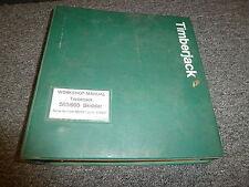 Timberjack 560 660 Skidder Cable Grapple Service Repair Shop Manual F281942