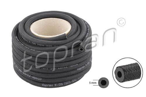 TOPRAN Kraftstoffschlauch 104 539 Rolle 5,0mm Gummi mit Gewebeeinlage