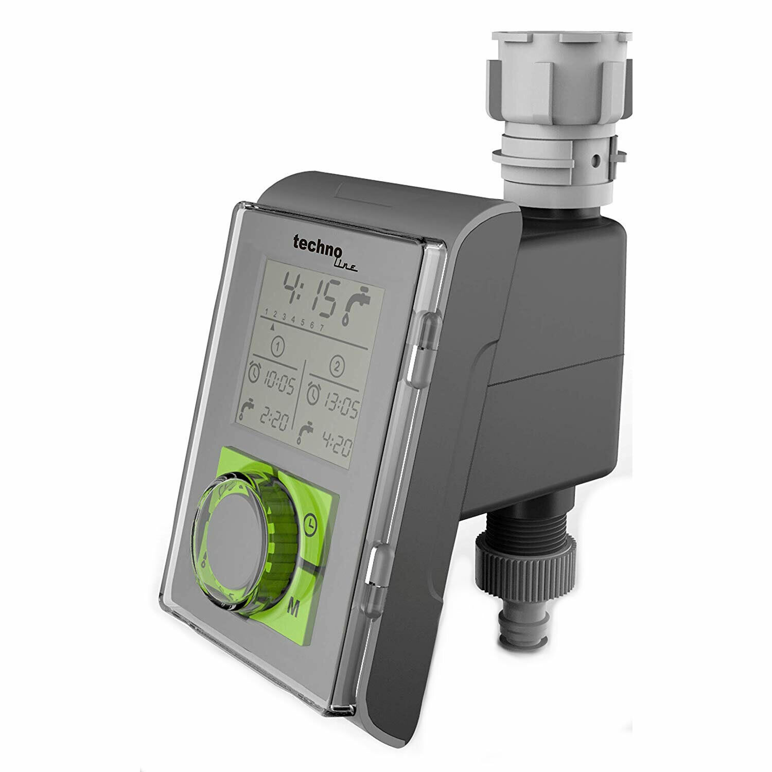 Technoline WZ-1000 Electronic Water Timer for Garden Hosepipes and Irrigation