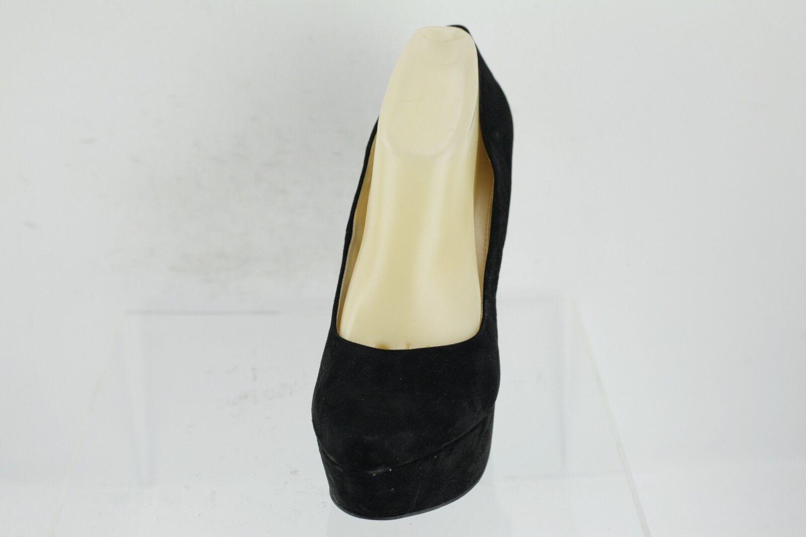 Jessica Women's Simpson Waleo Black Fabric Platform Pumps Women's Jessica Shoes Size 11 M 7e5a6c