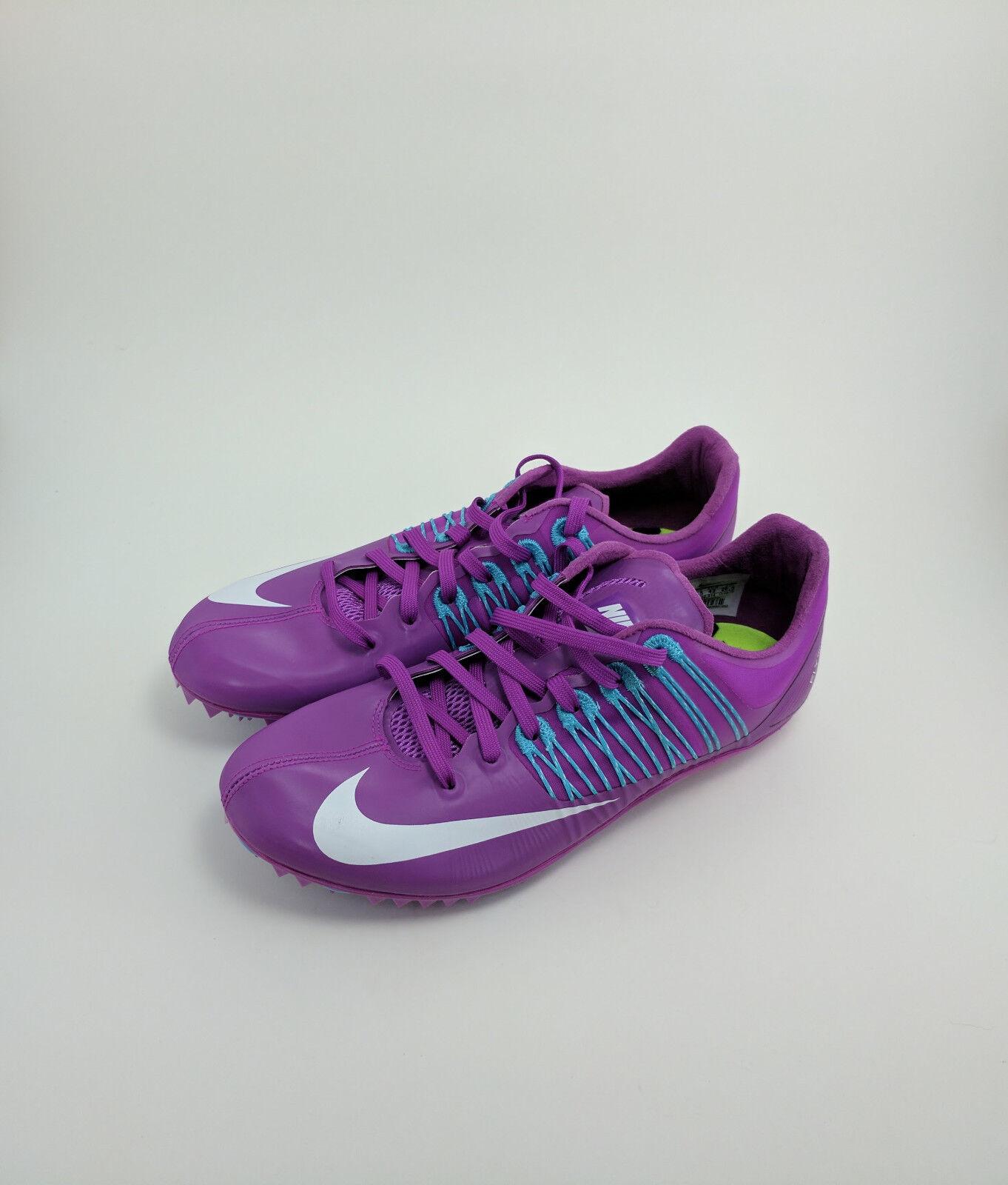 Neue nike zoom celar 5 - track sprint spikes hyper - 5 violett lila sz 8,5 629226-514 5ca285