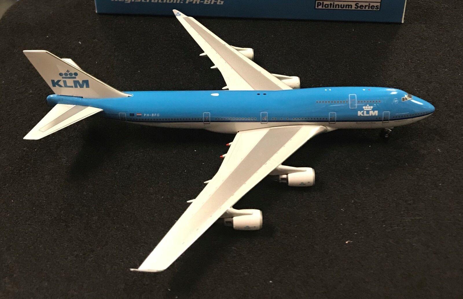Phoenix 400 KLM Asie B747-400 PH4KLM490 PH-BFG, édition limitée (0040)