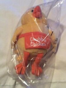 Vintage-A-amp-W-Chubby-Chicken-Stuffy-Figure-Brand-New-Sealed-7-5-Tall