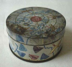 Boite TÔle Lithographiée. Berlingots E Boneru Carpentras 1950 Diam 9cm Lroivcit-10131038-789073760