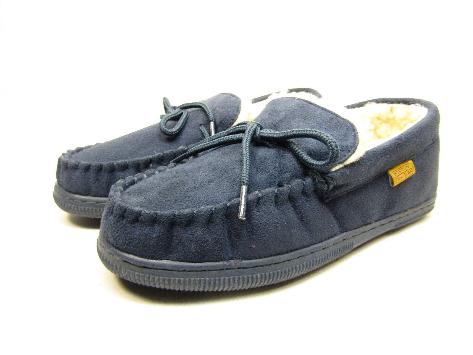 Boston Traveler  Moccasin Slippers 212M Navy Size 11