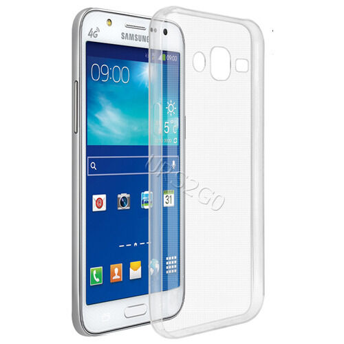 low cost b6708 a765b Clear Flexible TPU Protector Case for Samsung Galaxy J7 Sm-j700t Phone