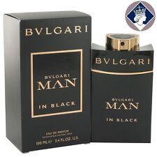Bvlgari Man In Black 100ml/3.4oz Eau De Parfum Spray EDP Perfume Cologne for Him