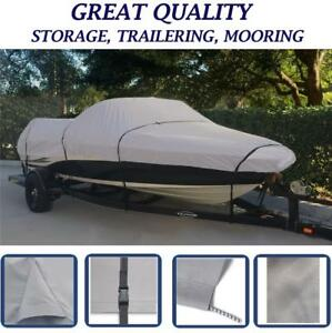 TRAILERABLE-BOAT-COVER-CRESTLINER-PRO-1700-TROLL-MTR-O-B-1992-Great-Quality