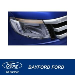 HEADLAMP-PROTECTORS-CLEAR-FORD-RANGER-2012-2014-GENUINE-FORD-PART
