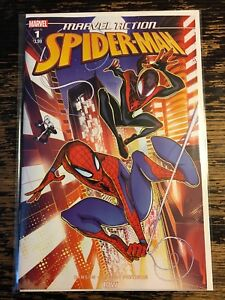 Marvel-Action-Spider-Man-1-Marvel-IDW-2018-Free-Combine-Shipping