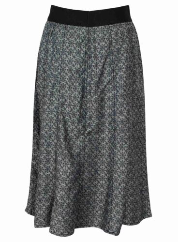 COTTON SKIRT LADIES EX STORE NEW PATTERNED WOMENS ELASTICATED WAIST NEW FLORAL