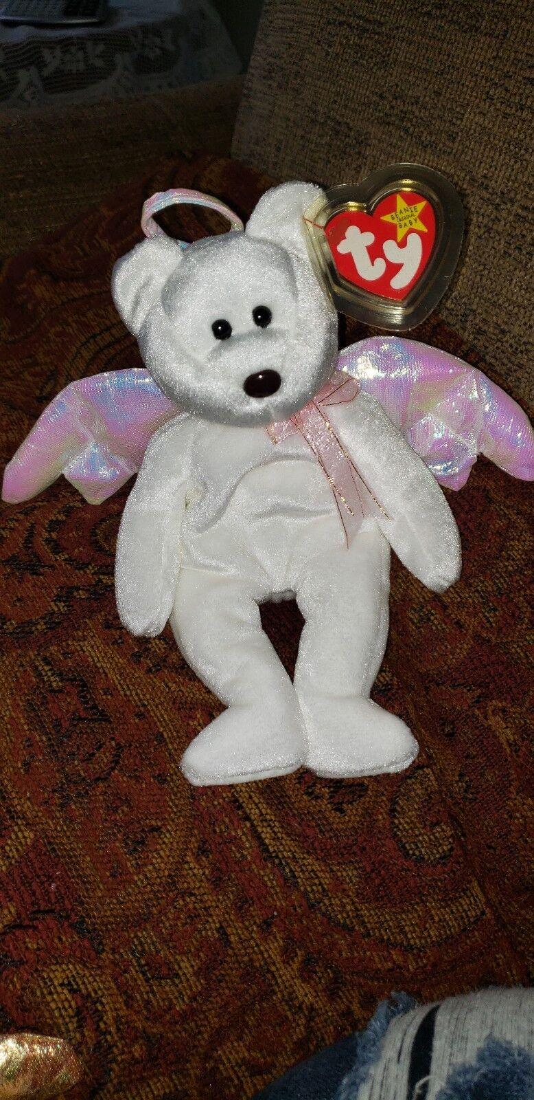 MWMT Ty Beanie Baby ~ HOPPITY the Pink Bunny 8.5 Inch