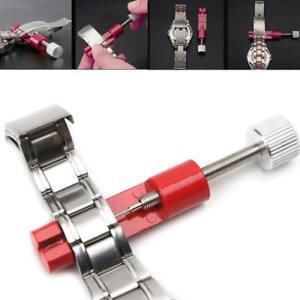 Uhrenarmband-Link-Pin-Remover-Strap-Adjuster-Reparatur-Uhrmacher-Werkzeug-Kit