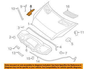 image is loading mercedes-oem-10-17-sprinter-3500-hood-hinge-