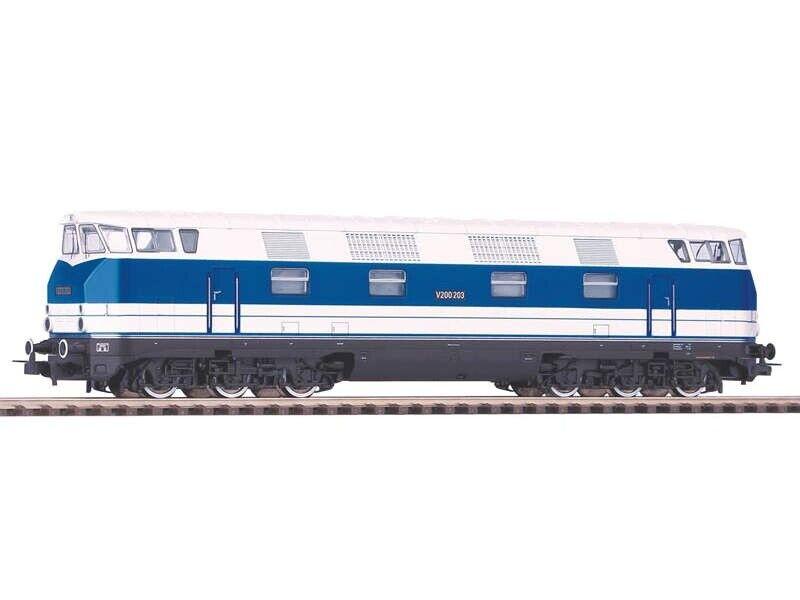 PIKO 52577 DIESEL v200 QCS blu, AC-versione, Epoch III, plux16, h0