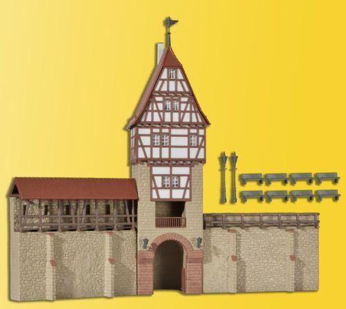 Kibri 38914 traccia h0 città muro reticolare con in Torre perché #neu in OVP #