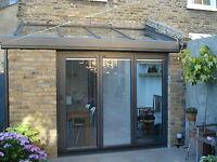 New, Quality Aluminuim Bi Fold Doors Inc integrated blinds 3 panels. Look At FB