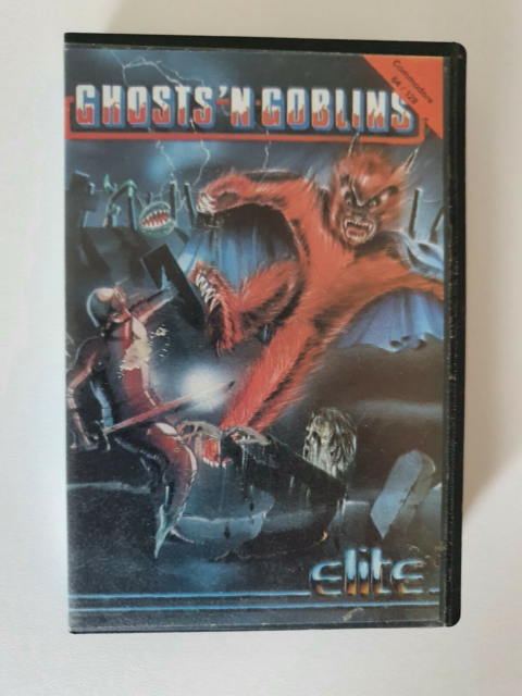 Ghosts'n Goblins ** SOLGT **, Commodore 64, ** SOLGT…