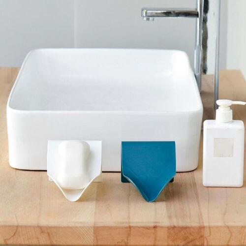 Soap Holder Drainage Storage Organize Rack Strong Non-marking Soap Box
