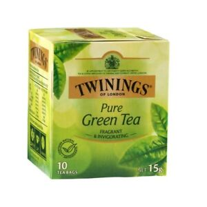Twinings Pure Green Tea Bags 10 pack 15g