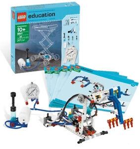 LEGO-9641-Formazione-P-attuariali-Ergaenzungsset-9686-Pressione-d-039-aria-Scuola