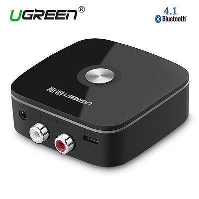 Ugreen Récepteur Bluetooth 4.1 Stereo Adaptateur Audio Sans Fil 3.5mm et 2 RCA