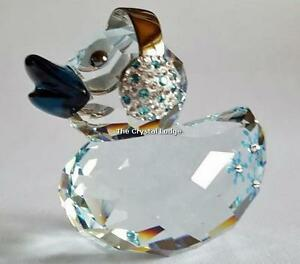 SWAROVSKI-CRYSTAL-HAPPY-DUCK-SNOWFLAKE-5136374-MINT-BOXED-RETIRED-RARE
