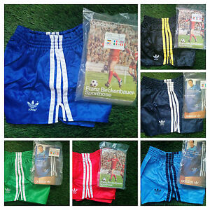 NEW-Adidas-Vintage-Shorts-Vinyl-Shiny-Beckenbauer-70s-80s-Retro-Germany