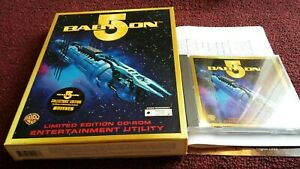 BABYLON-5-CD-ROM-ENTERTAINMENT-UTILITY-PC-COLLECTOR-039-S-EDITION-BIG-BOX-PC-GAME