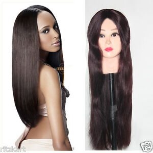 Full-Lace-Indian-Human-Hair-Natural-Wigs-Soft-Straight-Spl-For-Cancer-Patient