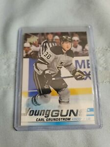 Carl-Grundstrom-2019-20-Upper-Deck-Series-2-Young-Guns-484-Los-Angeles-Kings