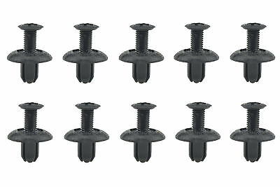 20 For Mitsubishi Lancer Evo Front Rear Bumper Clips Push-Type Retainer MB253964