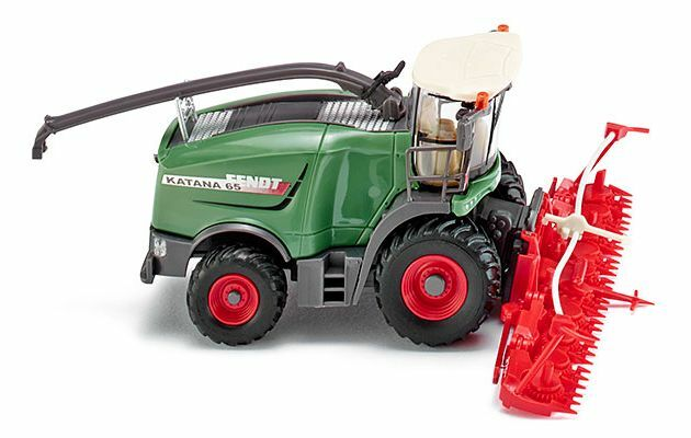 WIKING 1 87 SCALE 038999 FENDT KATANA 65 WITH MAIZE HEADER