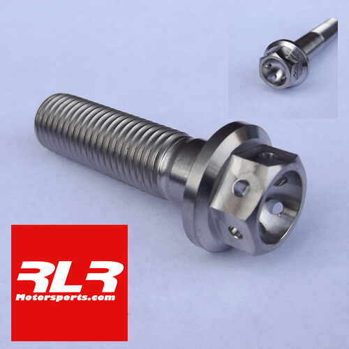 DRILLED M10  TITANIUM RACE BOLTS 1.25 Pitch M10x35