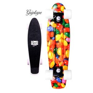 LONG-ISLAND-CRUISER-22-034-PLASTIC-BUDDIE-WITH-GRIPTAPE-SKATEBOARD-CANDY