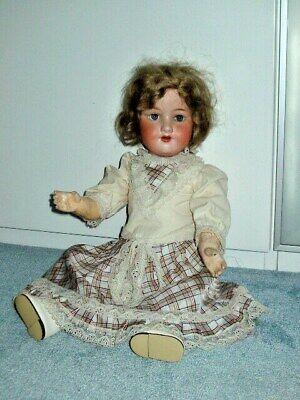 Alte Puppe Armand Marseille Gliedergelenkkörper Porzellankopf Am 390 - Dachboden Moderate Kosten