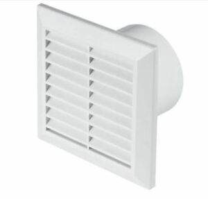 Image Is Loading White Bathroom Extractor Fan 100mm 4 034 Air