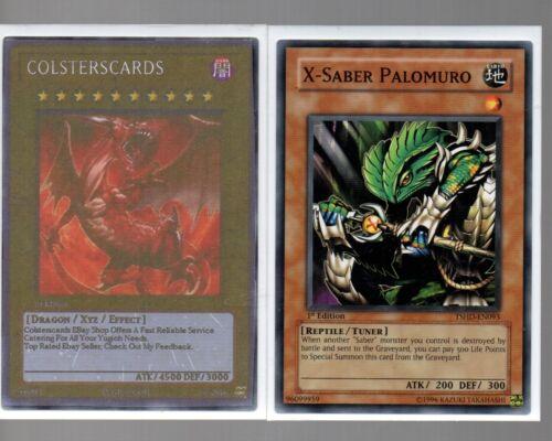 X-Saber Palomuro TSHD-EN093 Yugioh Cards
