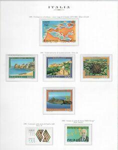 s25620-ITALIA-MNH-1990-Complete-Year-set-28v-6-S-S-Annata-Completa