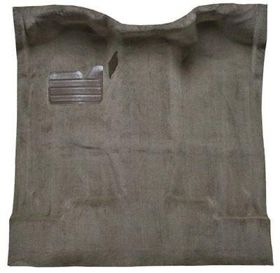 8019-Mist Grey Plush Cut Pile 2000 to 2006 Toyota Tundra Access Cab Pickup Truck Carpet Custom Molded Replacement Kit