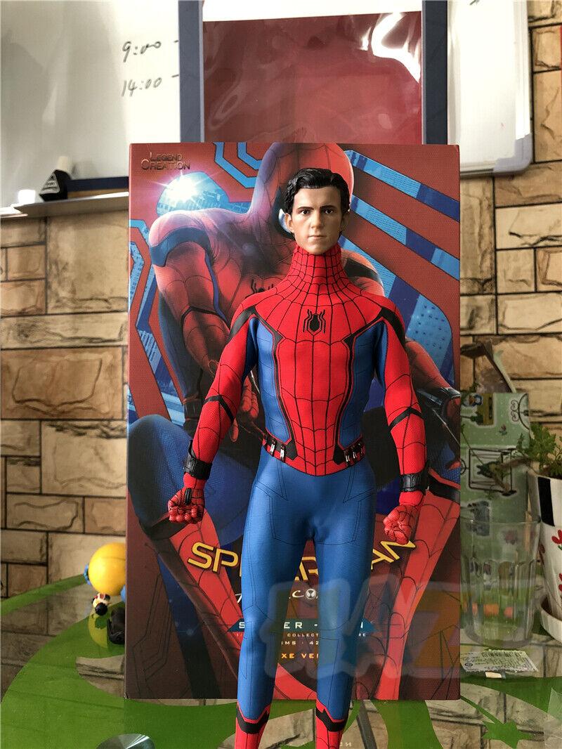 Spider - Man  fiesta de bienvenida 1   6 personajes modelo juguetes de lujo