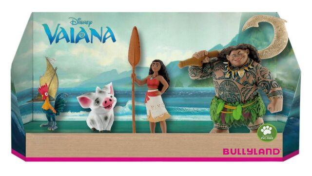 Bullyland 13190 Spielfigurenset Walt Disney Vaiana 4 Teilig OVP