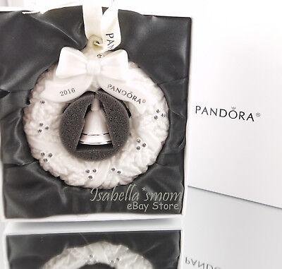 PANDORA Limited Edition 2016 JARED WREATH Porcelain CHRISTMAS ORNAMENT  Brand NEW | eBay