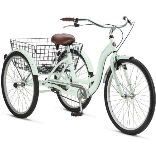 "26/"" Schwinn Meridian Adult Tricycle Mint"