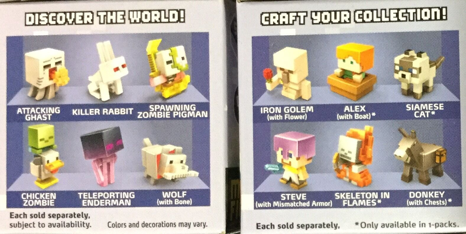 Minecraft Minecraft Minecraft Mini Figures Ice Series 5