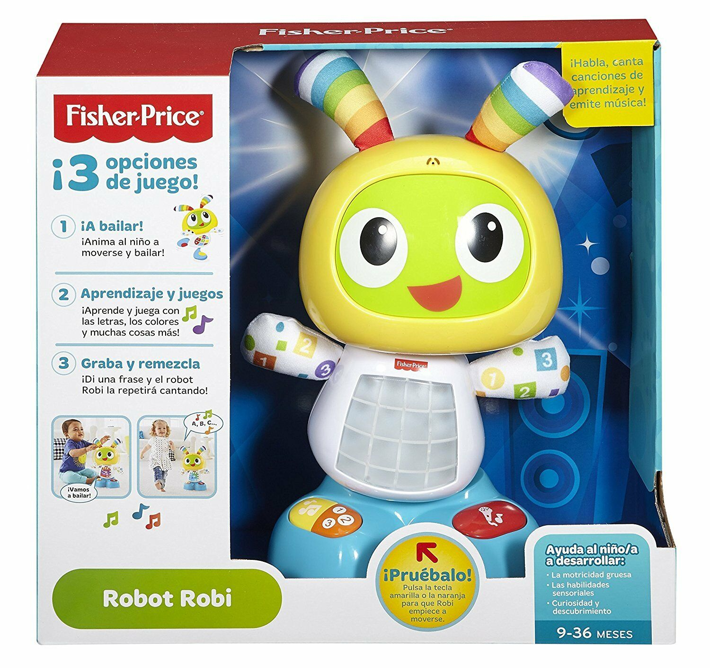 Fisher Price Robot Interactivo Bebe Juguete Adaptable Crecimiento Niño Niña
