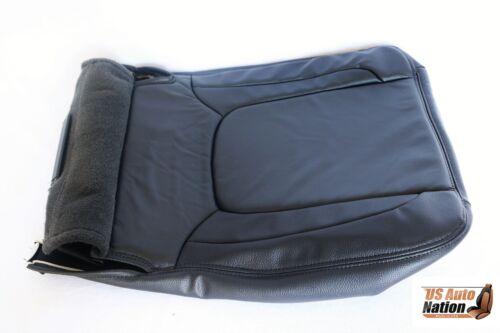 2004 2005 Dodge Ram Laramie Driver Side Bottom Leather Seat Cover Dark Gray