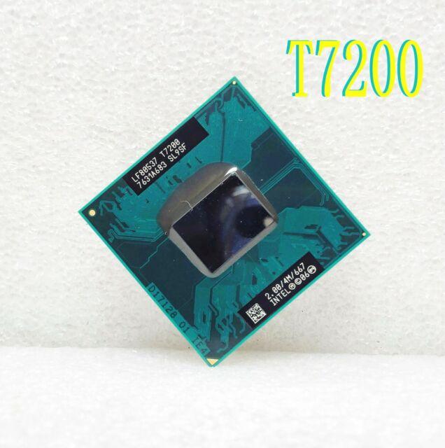 Intel Core 2 Dual-core T7200 2GHz (SL9SF) 4M 667MHz Socket479 Notebook Processor